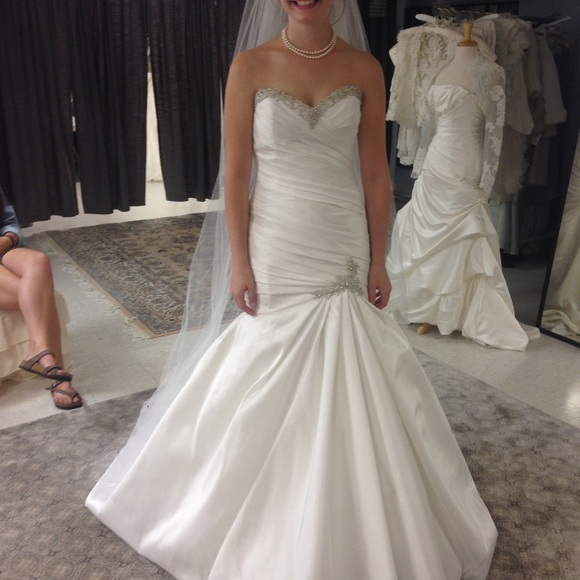 Dresses   Elegant Trumpet Style Wedding Gown   Poshmark